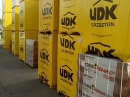 Газоблок UDK (ЮДК) по выгодным ценам в Харькове и области