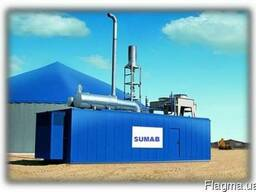 Газопоршневая электростанция SUMAB (MWM, Jenbacher) 800 Квт
