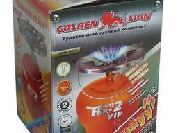Газовый комплект / Баллон «Golden Lion» Rudyy Rk-2 VIP 5л