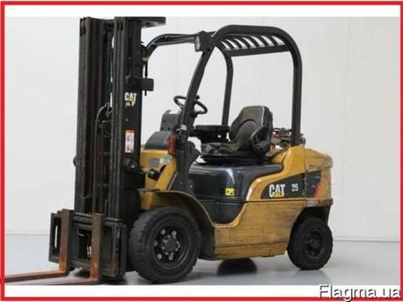 Газовый погрузчик CAT Lift Trucks GP25N, 2008 г., 2500 кг