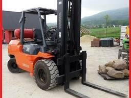 Газовый погрузчик Toyota 02-7FGA50б 5000 kg