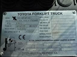 Газовый погрузчик Тойота 2 т, 2011 - фото 3