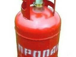 Газовый пропановый баллон 12 литров