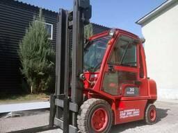 Газовый вилочный погрузчик 3 тонны Nissan UG1D2A30LQ б/у