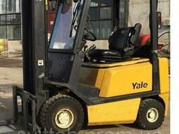 Газовый Вилочный Погрузчик Б/У YALE GLP16AF, 1600 кг. ..