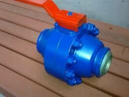 Газовые шаровые краны на трубопровод высокого давления
