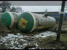 Цистерны железнодорожные Газы углеводородные