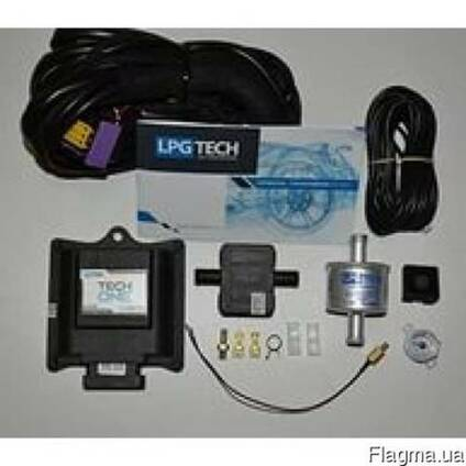 ГБО, комплект 4-го поколения подкапотка LPG TECH one.