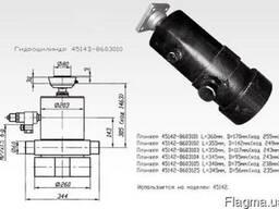 Гидроцилиндр камаз подьема кузова, прицепа 45142-8603010