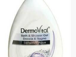 Гель для душа та ванни DermoVital Bath & Shower Sensitive Aqua1 л.