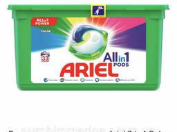 Гель-капсулы для стирки Ariel 3 in 1 Color для цветного белья, 33 шт