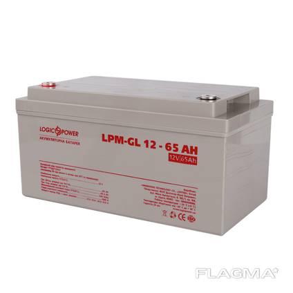 Гелевый аккумулятор для котла, Logic Power 12 Вольт, 65 Ач