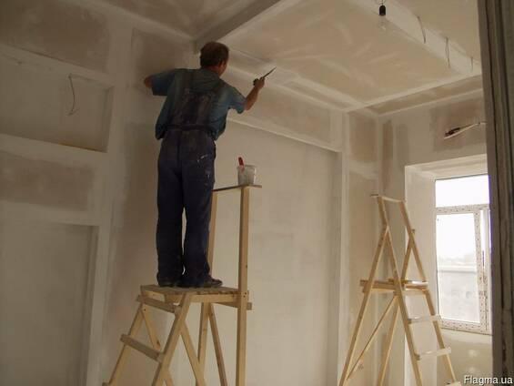 Внутренние отделочные работы, ремонт квартир под ключ