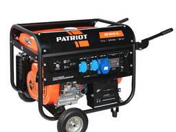 Генератор бензиновый patriot GP 6510 LE, мощность 5,0/5,5 кВ