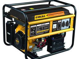 Генератор газ/бензин 5.0/5.5кВт электрозапуск Sigma 5711321