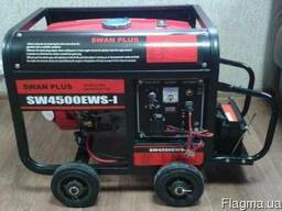 Генератор Swan Plus SW4500EWS-I стартер 2. 8 кВт