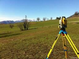 Топографічна зйомка та геологічні дослідження