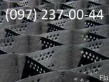 Георешетка объемная 21х21 высота 5, 10, 15, 20 см. - фото 2