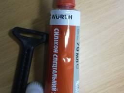 Герметик силикон автомобильный специальный Wurth