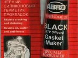Герметик силиконовый ABRO AB-12 BLACK