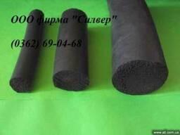 Герметизирующий резиновый шнур стыков металлических каркасов