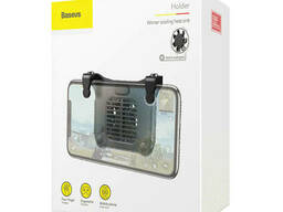 Геймпад, кулер-подставка для телефона Baseus Sucjlf-01, черный
