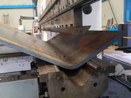 Гибка металла на листогибочных прессах оборудованным ЧПУ