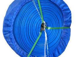 Гибкий рукав ПВХ типа lay flat для подачи воды Д-77мм