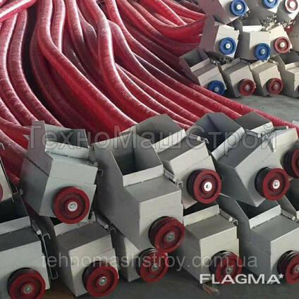 Гибкий шнековый транспортер спиральный конвейер транспортер т3 ттх