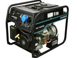 Гібридний генератор Hyundai hhy 7020FGE (Газ/бензин)