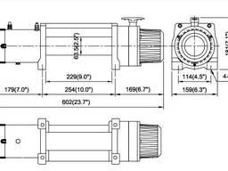 Гидравлическая лебедка ComeUp DV-9 12V