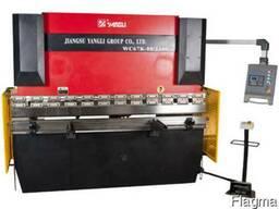 Гидравлические гибочные пресса Yangli серии WC67K 63х2500