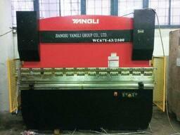 Гидравлический гибочный пресс Yangli WC 67Y 63/2500 Листогиб