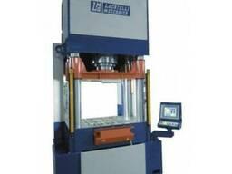 Гидравлический пресс 100 тонн с системой ЧПУ модель Т.100 4С