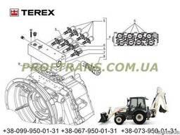 Гидравлика КПП TEREX 860 терекс гидрораспределитель