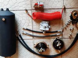 Тормозная система 2ПТС-4, 1ПТС-9, 2ПТС-6