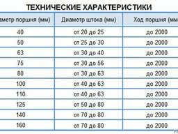 Гидроцилиндр Борэкс МС 110/56*1120-3.11.2(1520)
