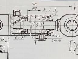 Гидроцилиндр Ц 80. 40. 680. 01. 19