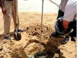 Гидрогель Luxsorb для легких и песчаных почв.