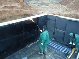 Гидроизоляция фундамента и стен