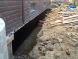 Гидроизоляция кровли, фундаментов и стен подвала. - фото 1