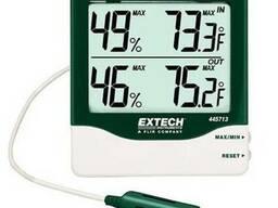 Гигро-термометр с большими цифрами настольный Extech 445713