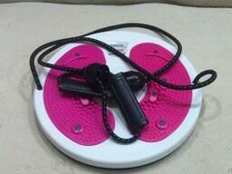 Гімнастичний диск Грація з еспандерами, диск здоров'я Грація