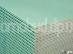 Гипсокартон стеновой, влагостойкий, потолочный