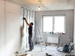 -гипсокартонные работы. Стены, потолки, перегородки