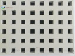 Гипсокартон перфорированный с квадратными отверстиями