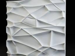Гипсовые 3D панели. Производство и установка