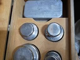 Гири комплект Г3-21111, 10 (класс 3 ГОСТ7328-82) возможна кал
