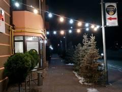 Гирлянда из ламп Белт Лайт Кабель с 3-мя патронами Уличная