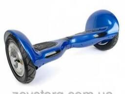 Гироскутер, гироборд на 10 колесах Bluetooth синий